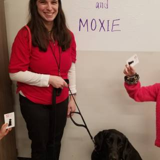 37 allison and moxie at therapy visit