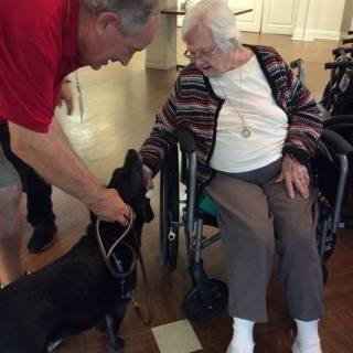 56. paul and teddy at oakbrook care